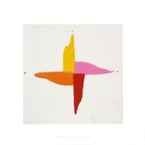 Corn Sweet, c.1961 Serigraph by Kenneth Noland