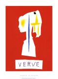 Cover For Verve, c.1954 Sérigraphie par Pablo Picasso
