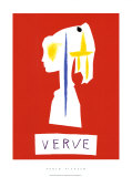 Cover For Verve, c.1954 Serigraph by Pablo Picasso