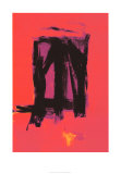 Red Painting, c.1961 Serigraph by Franz Kline