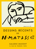 Dessins Recents, 1952 Posters by Henri Matisse
