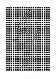 Tlinko, c.1955 Serigraph by Victor Vasarely