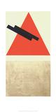 Entwurf fur Eine Festdekoration in Witebst, c.1920 Serigraph by Vera Jermolajeva