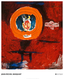 Vitaphone, 1984 Poster by Jean-Michel Basquiat