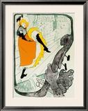 Jane Avril, 1893 Poster by Henri de Toulouse-Lautrec