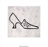 Shoe Serigraph by Allan Stevens