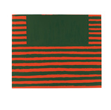 West Broadway, c.1958 Serigraph by Frank Stella