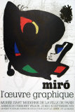 Musee d'Art Moderne, 1974 Collectable Print by Joan Miró