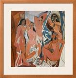 Les Demoiselles d'Avignon Posters by Pablo Picasso
