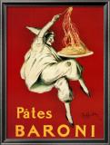 Pates Baroni, 1921 Print by Leonetto Cappiello