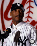 Gary Sheffield - &#39;03 Press Conference (Yankees) &#169;Photofile Foto