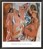 Les Demoiselles d'Avignon Prints by Pablo Picasso