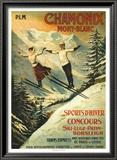 Chamonix Posters by Francisco Tamagno