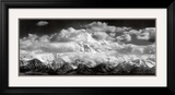Mt. McKinley Range, Clouds, Denali National Park, Alaska, 1948 Art Print by Ansel Adams