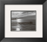 The Scripps Pier Prints by Ansel Adams