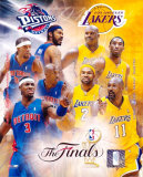 Pistons/Lakers - &#39;04 Match-Up &#169;Photofile Photo