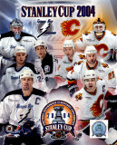 03&#39;/&#39;04 Stanley Cup Flames/Lightning Match-Up Composite &#169;Photofile Photo