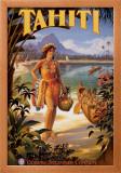 Tahiti Posters by Kerne Erickson