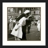 Kissing The War Goodbye Print by Victor Jorgensen