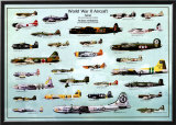 World War II Aircraft Posters