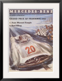 Mercedes Benz Posters by H. Liskars