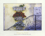 Antique Iron Rail II Prints by Barbara Ellison