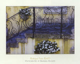 Antique Iron Rail I Print by Barbara Ellison