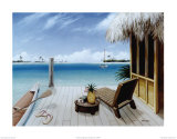Fuite tropicale Affiches par David Marrocco