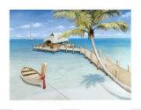 Palm View Affiches par David Marrocco