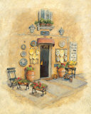 Antique Market I Poster by Charlene Winter Olson