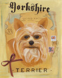 Yorkshire Terrier Posters by Claire Pavlik Purgus