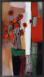 Flowers at Home Print by Nancy Ortenstone