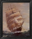 Romance of Sail Art by Frank Vining Smith