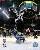 Tampa Bay Lightning Nikolai Khabibulin 2004 Stanley Cup Finals Celebration Photo