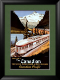 Canadian Pacific Train Posters by Roger Couillard