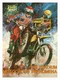 The Stadium Motorcross Phenomena Giclee Print