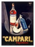Campari Aperitif Liquer Giclee Print