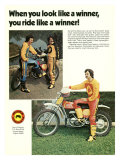 Bultaco Miura Motorcycle Gear Giclee Print