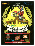 Superbowl of Motorcross Giclee Print