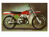 Bultaco Pursang MK4 Motorcycle Giclee Print