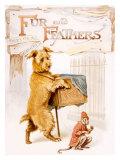 Children's Alphabet Story Giclee Print