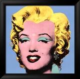 Marylin sur fond bleu, 1964 Affiches par Andy Warhol
