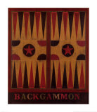 Backgammon Posters by Warren Kimble