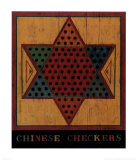 Chinese Checkers Affiches par Warren Kimble