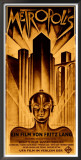 Metropolis Prints by Schulz-Neudamm 