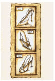 Sepia Shoes I Poster