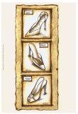 Sepia Shoes I Poster