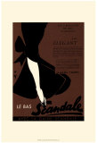 Le Scandale Posters by Kate Archie