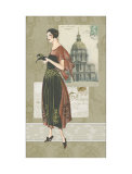 Moda francese I Poster di Deborah Bookman