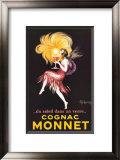 Cognac Monnet Print by Leonetto Cappiello